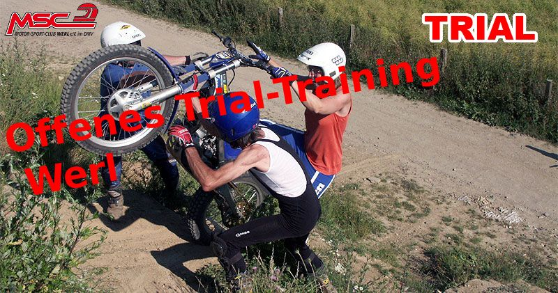 Offenes Trial-Training Werl