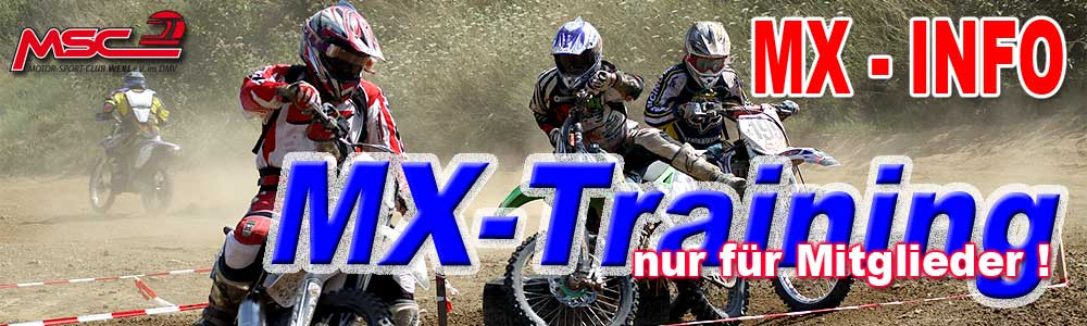 MVNW Trial Junior Team Training in Werl